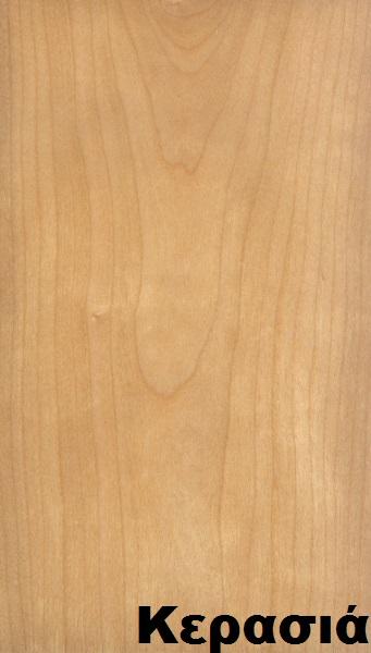 επενδεδυμένη επιφάνεια mdf ξύλο κερασιά