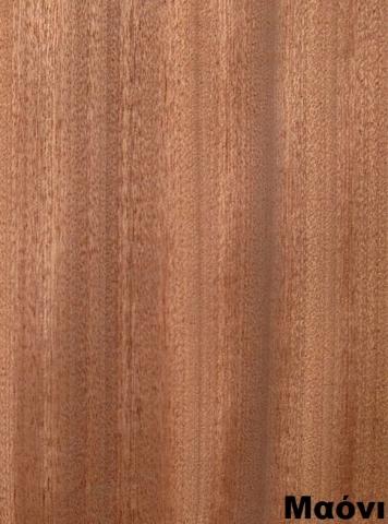 επενδεδυμένη επιφάνεια mdf ξύλο μαόνι