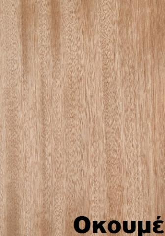 επενδεδυμένη επιφάνεια mdf ξύλο οκουμέ