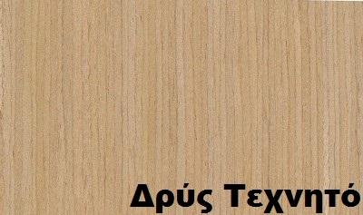 επενδεδυμένη επιφάνεια mdf ξύλο δρύς τεχνητό