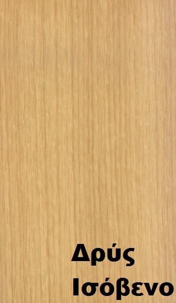 επενδεδυμένη επιφάνεια mdf ξύλο δρυς ισόβενο