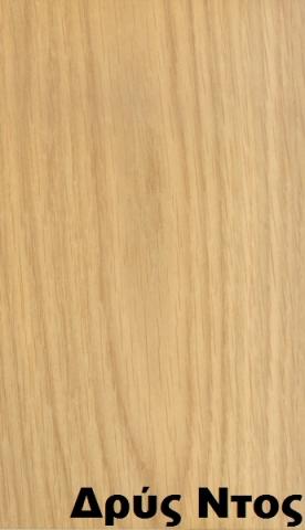 επενδεδυμένη επιφάνεια mdf ξύλο δρυς