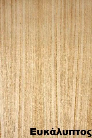 επενδεδυμένη επιφάνεια mdf ξύλο ευκάλυπτος