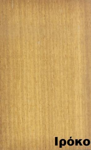 επενδεδυμένη επιφάνεια mdf ξύλο ιρόκο